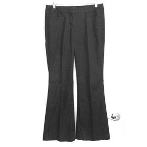 Express Black Pinstripe Pants